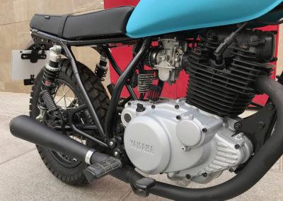 Yamaha 250 sr scrambler custom