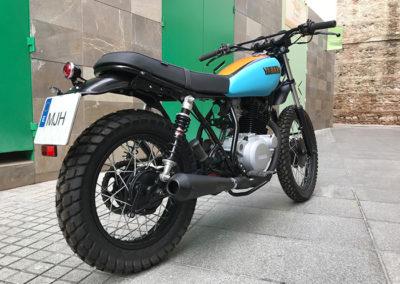 Yamaha 250 sr scrambler en malaga