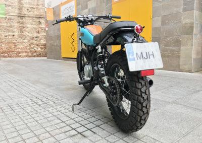 Yamaha 250 sr scrambler malaga